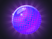 Discoball — Stockfoto