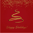Christmas card — Vector de stock #2014694