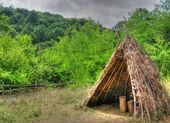 Mountain shelter — Stock Photo