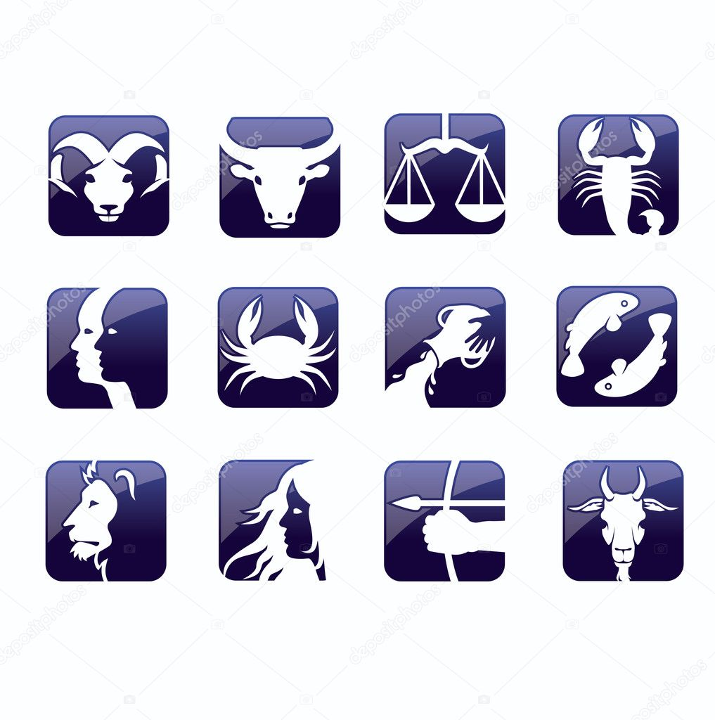 Zodiac signs vector — Stock Vector #2073572