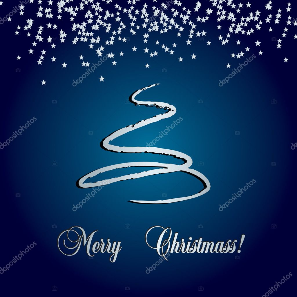 Vector christmass card — Stock Vector #2074846