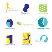 Logos de beauté — Vecteur