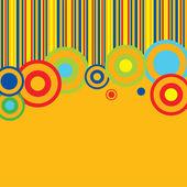 Plantilla de menú colorido — Vector de stock