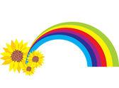 Regenbogen illustartion — Stockvektor