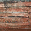 Wooden siding - Stock Photo