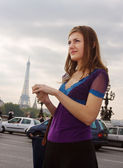 Walking in Paris — Stock Photo
