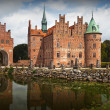 Stock Photo: Egeskov castle