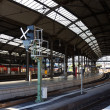 railway station — Stock Photo