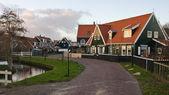 Historical Dutch village — Stock Photo