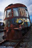 旧机车 — 图库照片
