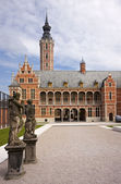Arquitetura flamenga — Foto Stock