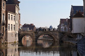 Mechelen - old city in Belgium — Stock Photo
