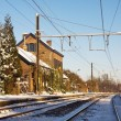 Old railway station - Stock Photo