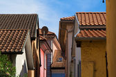 Town roofs — Stock Photo