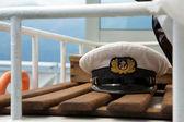 Captain cap — Stock Photo