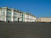 State Hermitage Museum in Petersburg — Stock Photo