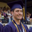 Stock Photo: Male high school graduate