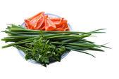 Healthy Vegetarian Nutrition — Stock Photo
