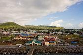 Colorful Coastal Getaway — Stock Photo