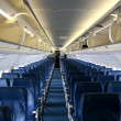 Stock Photo: Empty Plane