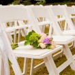 Stock Photo: Chairs at Wedding