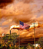 American Pollution — Stock Photo