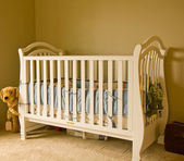 White Crib — Stock Photo