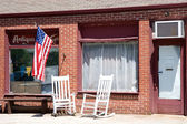 Old American Antique Shop — Stock Photo