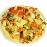 Vegetarian pizza — Stock Photo #2355254