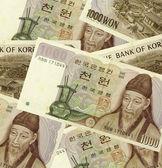 Banknotes of Korea — Stock Photo
