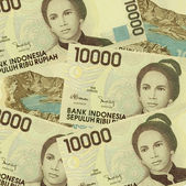 Banknotes of Indonesia — Stock Photo