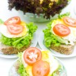 Healthy sandwich. — Stock Photo #2361194
