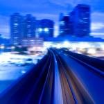 Urban night traffics — Stock Photo #2361961
