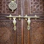 Islamic style door — Stock Photo #2366061