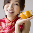 Stock Photo: Chinese girl