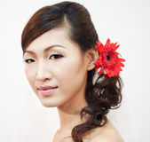 Asian bride. — Stock Photo