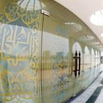 Modern Islamic door design. — Stock Photo