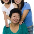 Royalty-Free Stock Photo: Three generations.