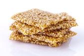 Sesame snack — Stock Photo