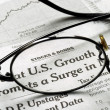 Focus on U.S. Growth in the economy — Stock Photo