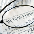 Focus on mutual fund investing — Stock Photo #2018250