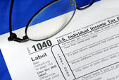Focus on the United States Income Tax — Stock Photo