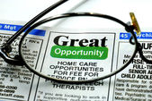 Focus on the great opportunity — Stock Photo