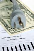 Aylık elektrik faturası — Stok fotoğraf