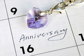 Do you remember today is our anniversary — Stock Photo