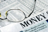 Mettre l'accent sur l'investissement d'argent — Photo