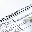 Royalty-Free Stock Photo: File the health insurance claim form