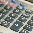 Royalty-Free Stock Photo: Close up view of a calculator