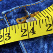 Stock Photo: Perfect waist size for lady