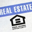 Stock Photo: Equal housing opportunity